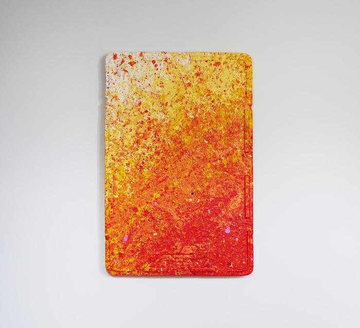 Tableau contemporain abstrait coloré Sunshine